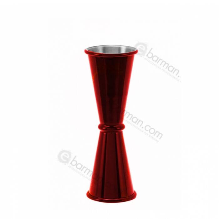Jiggers Jigger style japanese 45/50 ml Rosso Rubino