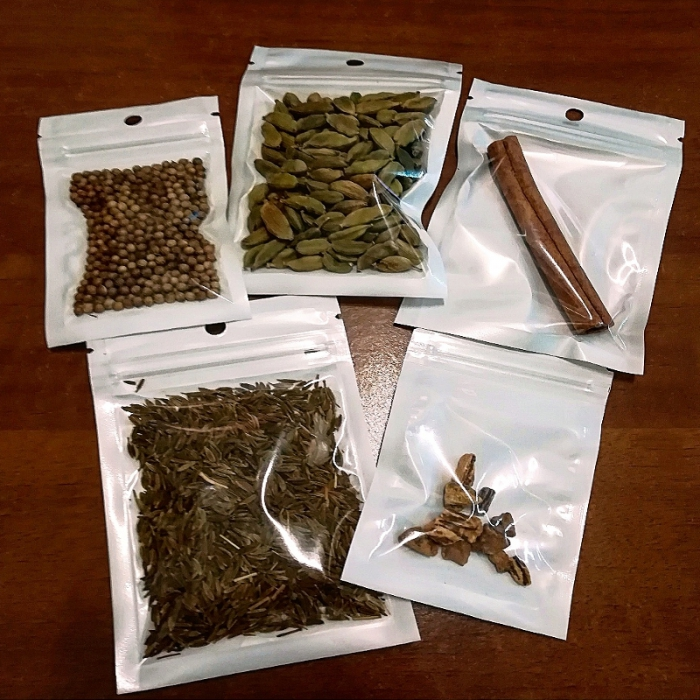 ebarman Spezie Store Kit per Bitter Arancia pronunciato al cardamomo Homemade solo spezie