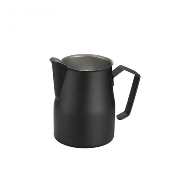 Caffetteria e Latte Art Lattiera professionale nera 35 cl