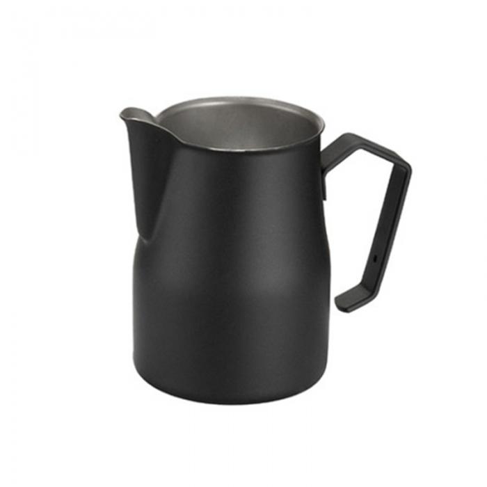 Caffetteria e Latte Art Lattiera professionale nera 75 cl