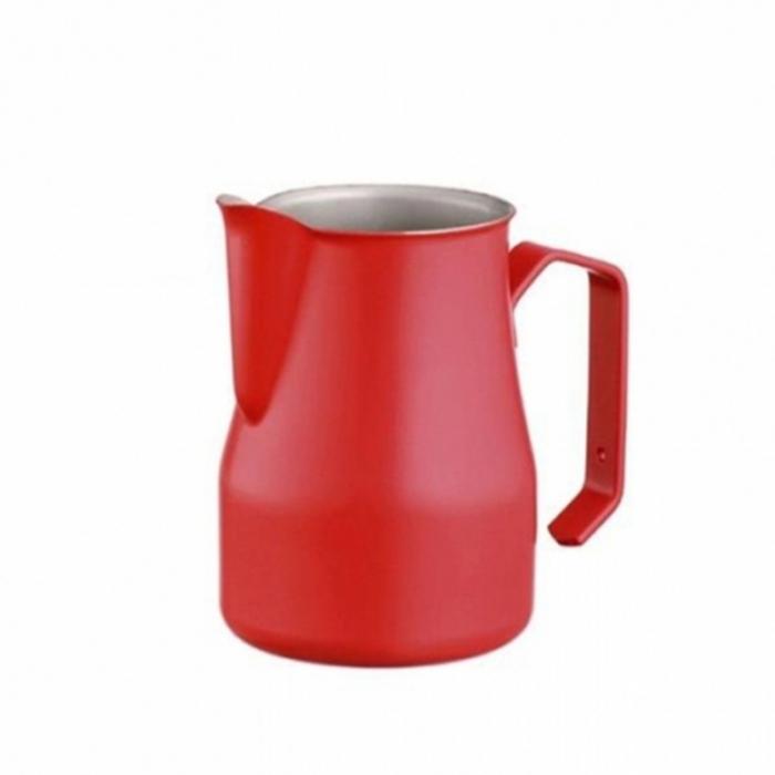 Caffetteria e Latte Art Lattiera professionale rossa 75 cl
