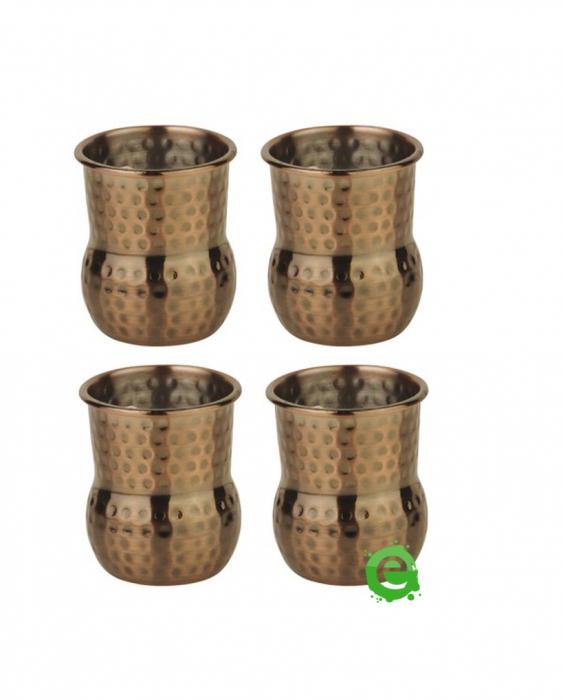 Mug Mini mug per shot color rame antico 6 cl 4pz