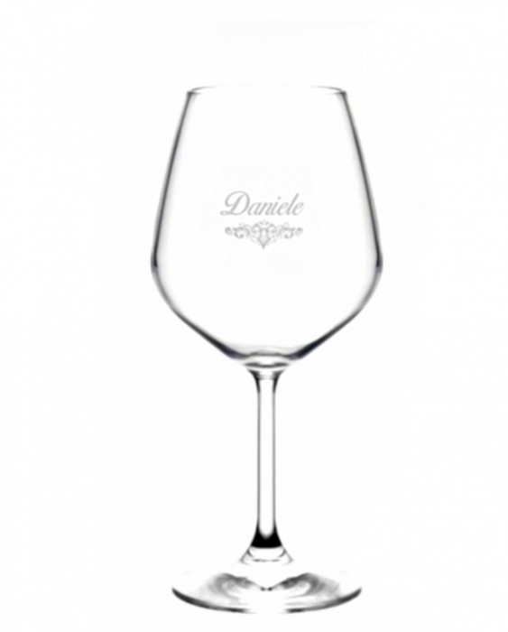 Bicchieri Personalizzati Singoli Modello Art Nouveau Calice Vino rosso 52.5 cl 1 pezzo