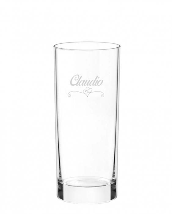 Bicchieri Personalizzati Singoli Modello Cuori Bicchiere Gin Tonic 38.5 cl 1 pezzo