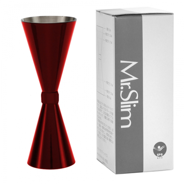 Jigger Mr Slim Mr.Slim™ Jigger Big Rosso Rubino 45/60/90 ml
