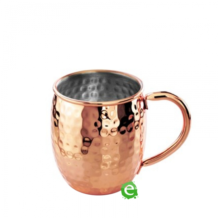 Mug Mug martellata bombata rame 40 cl