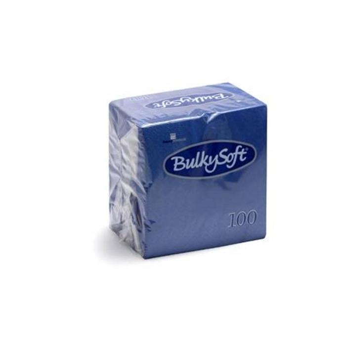 Cannucce e Tovaglioli Napkins 12x12 2 veli Blu conf.100 pz
