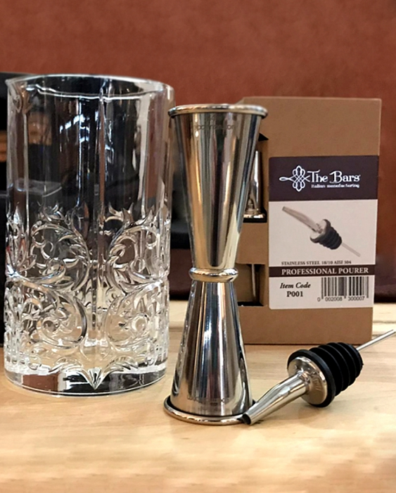 Ultimi in Stock Offerta Kit Barman 3pz