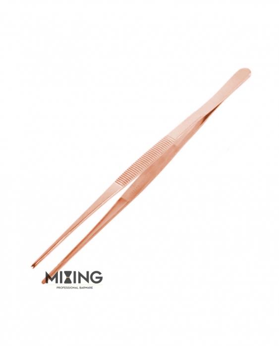 Decorazione Guarnizione Pinza Mixing rame lucido 30 cm
