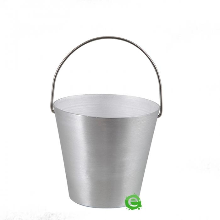 Accessori per Servizio Bar Secchiello in alluminio per aperitivi h 10.8 cm