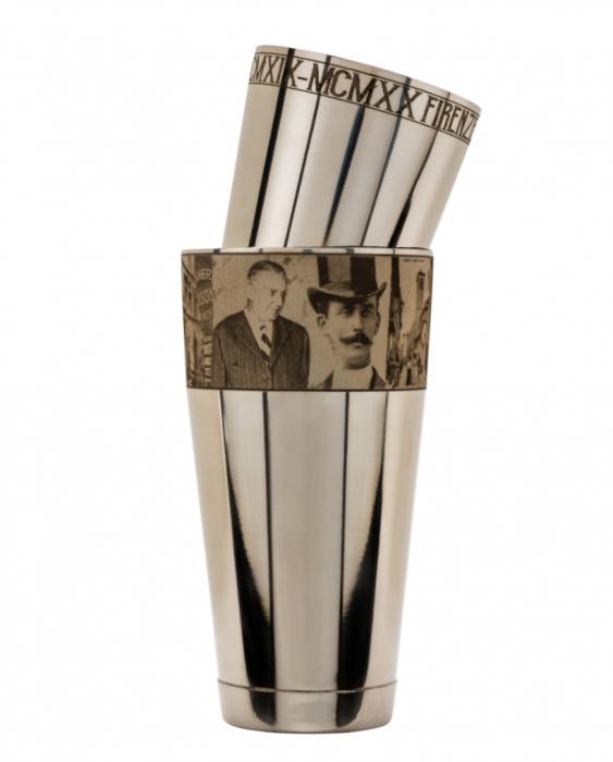 Maggiore Produzioni Shaker Boston Edizione Conte Negroni 900 e 600 ml