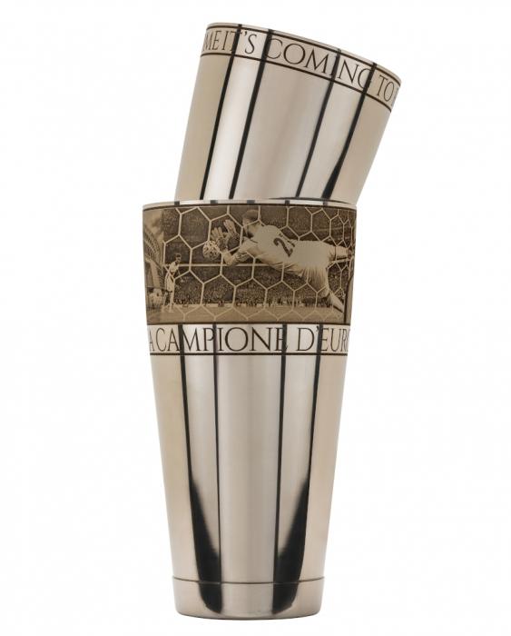 Maggiore Produzioni Shaker Boston Italia Campione d'Europa 2021 900 e 600 ml EDIZIONE LIMITATA