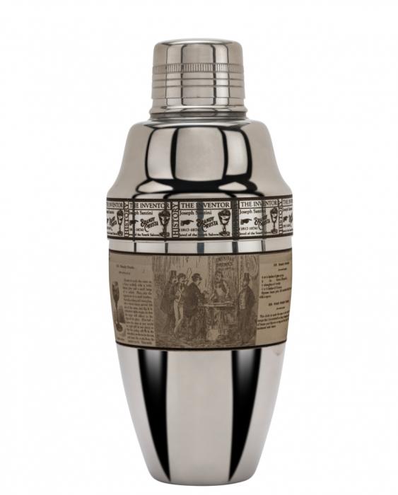 Maggiore Produzioni Shaker Cobbler Iron Pro Crusta Figurale 500 ml