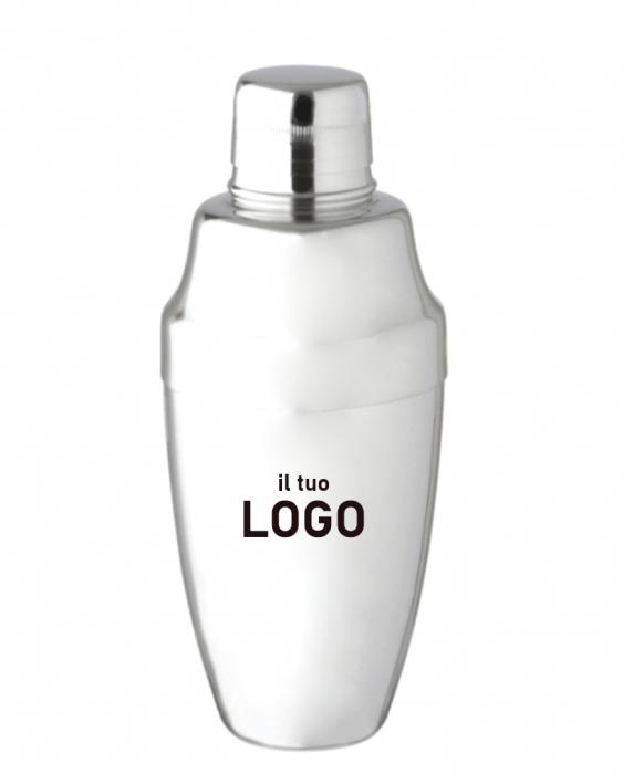 Attrezzatura Barman Personalizzata Shaker Cobbler personalizzato con logo 500 ml