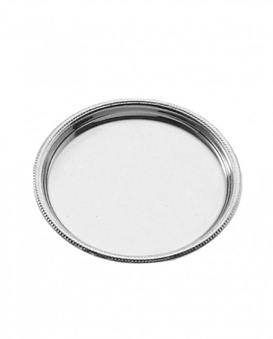 Accessori per Servizio Bar Sottobottiglia rotondo S.Marco in acciaio inox 15 cm