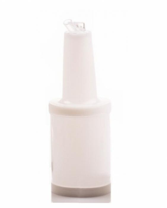 Store'n Pour & Dispenser Speed bottle 1 lt. Colore Bianco