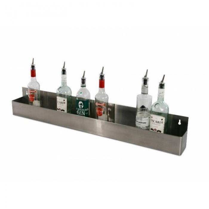 Accessori per Barman Speed rack vasca portabottiglie 10 bottiglie 107cm
