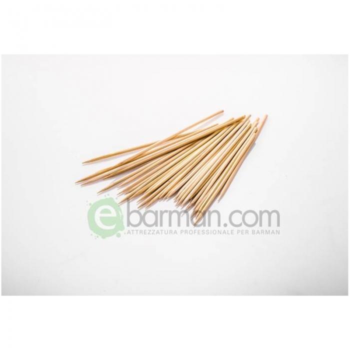Decorazione Guarnizione Spiedini classici bamboo 15 cm conf. 200 pz