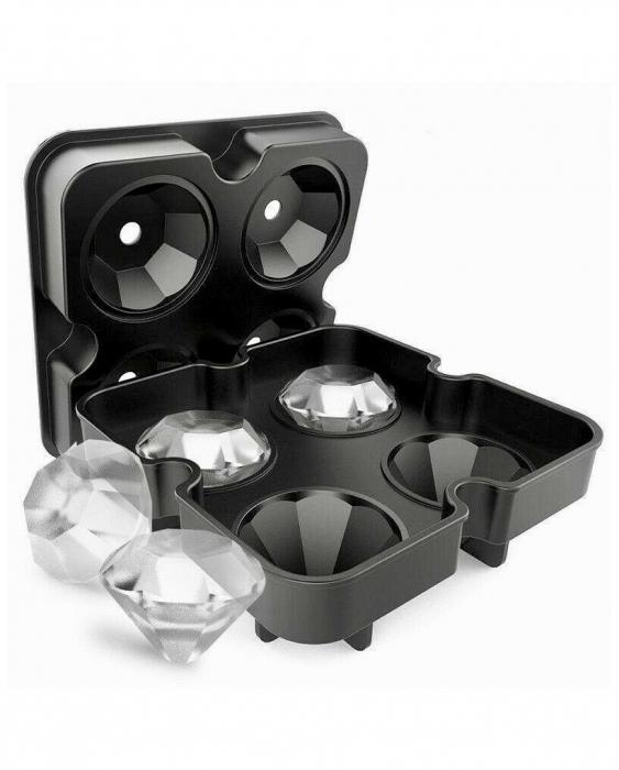 Accessori Ghiaccio Stampo ghiaccio diamante in silicone