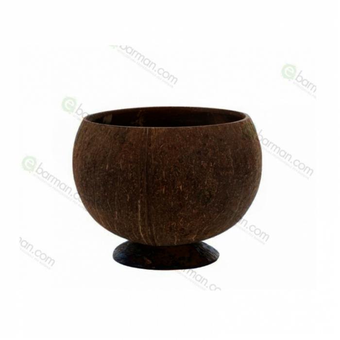 Mug Tazza guscio di noce di Cocco naturale Tiki 30/50 cl