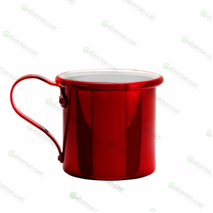 Mug Tazza in alluminio 42.5 cl Rosso Rubino