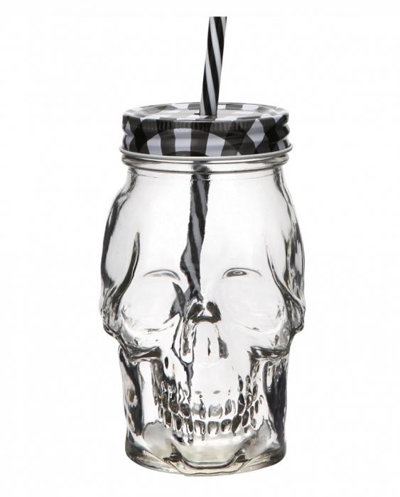 Bicchieri da Cocktail Tiki Mug Teschio in vetro 45 cl