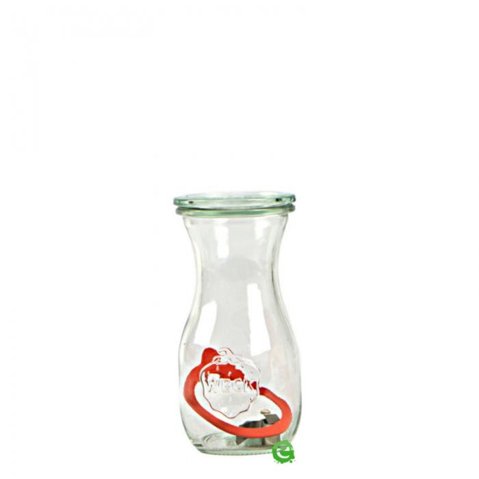 Decorazione Guarnizione Vasetto Tulip con tappo e chiusura ermetica 29 cl 6pz