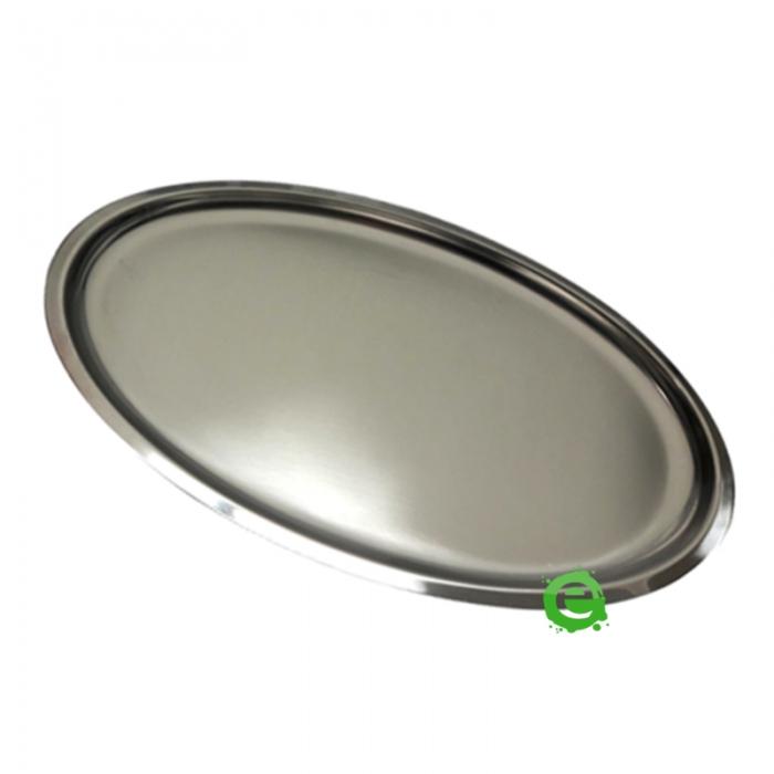 Accessori per Servizio Bar Vassoio Basic in acciaio inox 18/10 40x31 cm