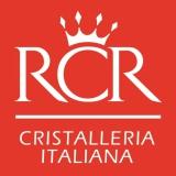 Decorazione Guarnizione, Alzata Porta dolci con cupola rotonda RCR in cristallo.