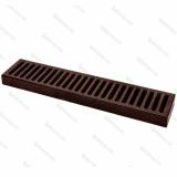 Bar Mat e Tappetini, Bar mat in acciaio inox 18/9 Old Bronze 50x10,5 cm