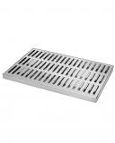 Bar Mat e Tappetini Bar mat in acciaio inox ebarman MAC4 Large 45x30 cm