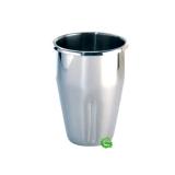 Accessori elettrici Bicchiere di ricambio Mixer Vema in acciaio inox