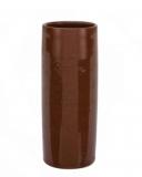 Mug Bicchiere Mug in Terracotta lucido 40 cl