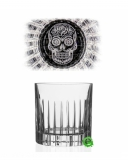 Bicchieri RCR, Bicchiere Skull Mexican Timeless 31 cl 6pz