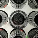 Bicchieri RCR , Bicchiere Skull Mexican Timeless RCR 36 cl 6pz