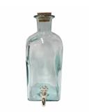 Botti e Alambicchi Bottiglia in vetro con rubinetto 200 cl