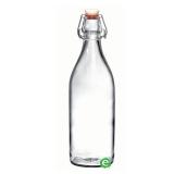 Bitters Bottle , Bottiglia in vetro con tappo 1 lt