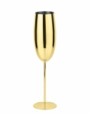 Bicchieri da Cocktail Calice Flute in acciaio inox oro 27 cl 1pz