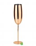Bicchieri da Cocktail, Calice Flute in acciaio inox rame 27 cl 1pz