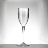 Bicchieri in Plastica, Calice flute in Policarbonato trasparente 17 cl 4pz
