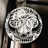 Bicchieri RCR, Calice Skull Mexican Timeless RCR Acqua 29,8 cl 6pz