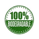 Cannucce e Tovaglioli, Cannucce dritte colore Nero 21cm Biodegradabili e Compostabili Conf.500 pz