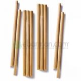 Cannucce e Tovaglioli Cannucce in Bamboo Naturale Conf. 10 pz