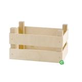 Accessori per Servizio Bar, Cassetta in legno porta attrezzatura 20x14x10 cm
