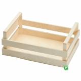 Accessori per Servizio Bar, Cassetta/Vassoio in legno 30x20x10 cm
