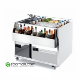 Moduli Bar e Bottigliere Cocktail Station M100 con lavabo