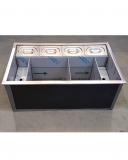Moduli Bar e Bottigliere Drink Station PRO a incasso in acciaio inox AISI 304