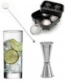 Kit e valigette Barman, Gin Tonic kit fai da te 14 pz