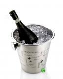 Accessori Vini & Champagne, Glacette in acciaio inox con scritte