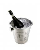 Accessori Vini & Champagne Glacette in acciaio inox con scritte